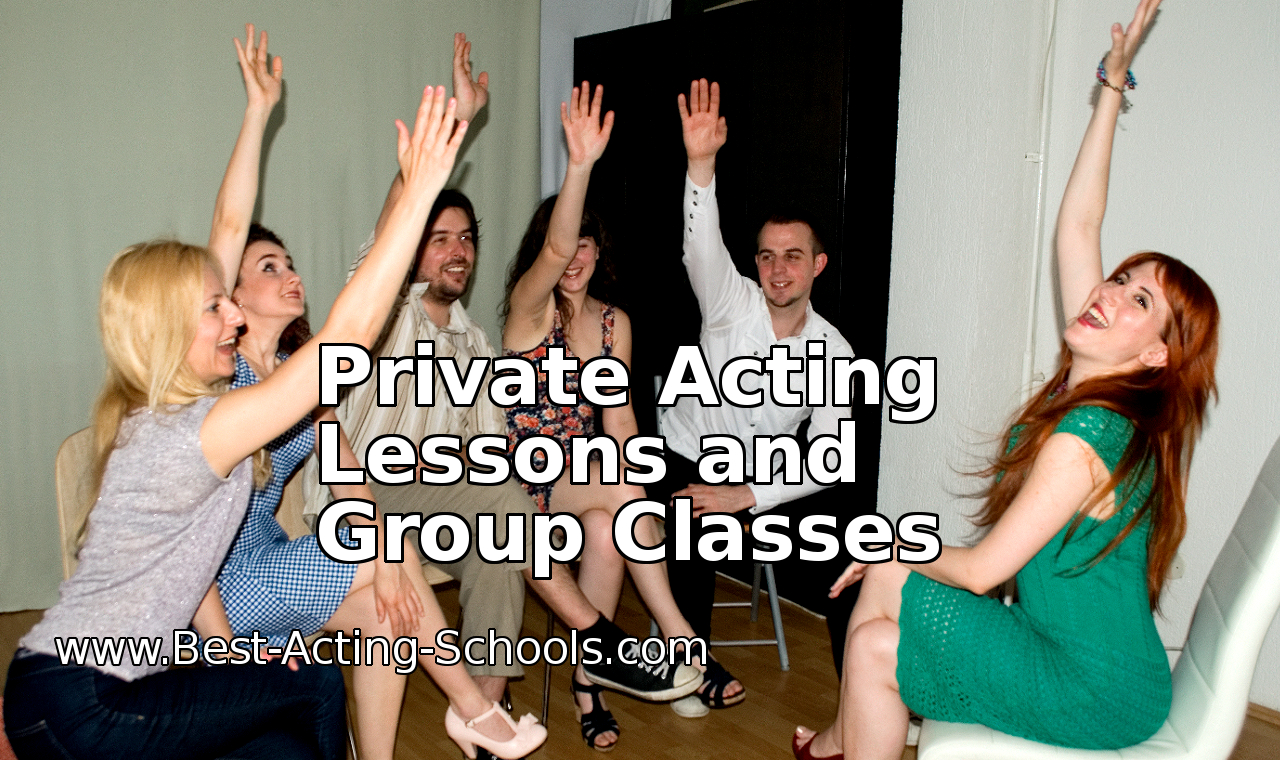 Private Acting Lessons and Group Classes, Los Angeles, New York and other cities