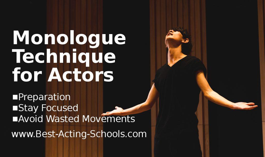 Monologue Technique for Actors